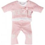 Käthe Kruse 36652 - Puppenbekleidung - Strickoutfit Bekleidung, 3-teilig, rosa
