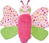 Käthe Kruse 74860 - Im Garten Wendeschmusetuch Schmetterling