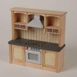 Bodo Hennig 23730 - Küchenzeile mit Herd für Puppenstube