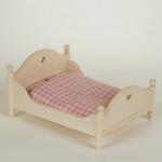 Bodo Hennig 24408 - Doppelbett für Puppenstube