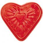 GLÜCKSKÄFER 535021 - Relief-Sandform Herz, rot