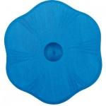 GLÜCKSKÄFER 522856 - Kerzenständer Blume blau