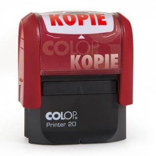 Colop Printer 20 mit Lagertexten