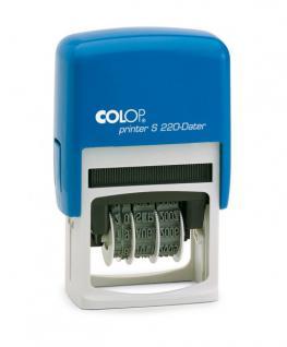 Colop Printer S 220 Dater (Datumstempel ZH 4 mm TT.MMM.JJJJ)