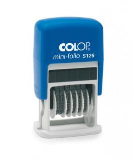 Colop Mini-Dater S 126 (Ziffernbänderstempel 6-stellig)