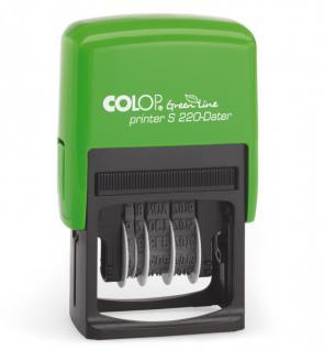 Colop Printer S 220 Green Line Datumstempel (TT.MMM.JJJJ)