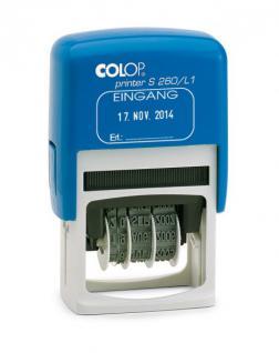 Colop Printer S 260/L (Datumstempel mit Lagertexten)