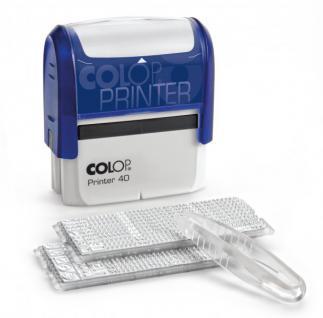 Colop Printer 40/2 SET 6-zeilig 59x23mm (DIY)