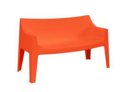 Design Sofa Kunststoff orange Outdoor geeignet - Vorschau