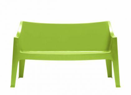 Design Sofa Kunststoff grün Outdoor geeignet