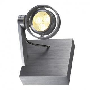 LED Decken/Wandleuchte/ Strahler Aluminium - Vorschau 1