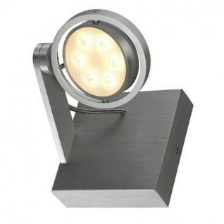 LED Decken/Wandleuchte/ Strahler Aluminium - Vorschau