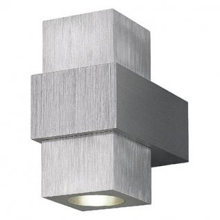 Wandleuchte ALuminium LED warmweiß - Vorschau 1