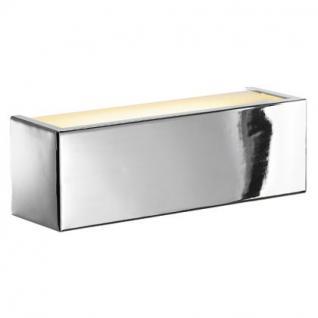 Wandleuchte Stahl/ Glas - Vorschau