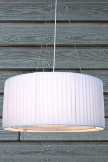 Moderne Pendelleuchte , 65 cm Durchmesser, Farbe: weiss - Vorschau 1