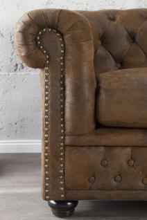 1-Sitzer Sessel im Chesterfield Look - Vorschau 4