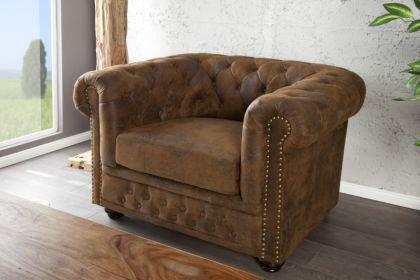 1-Sitzer Sessel im Chesterfield Look - Vorschau 1