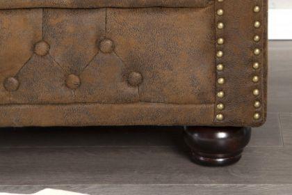 1-Sitzer Sessel im Chesterfield Look - Vorschau 3