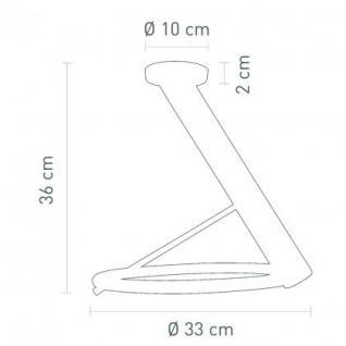 Deckenleuchte Metall chrom - Vorschau 2