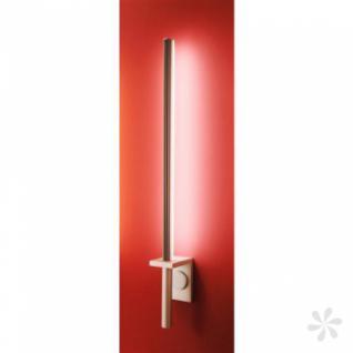 Wandleuchte aus Alu Druckguß in matt-silber, LED - Vorschau 1
