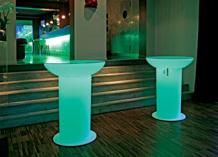 Lounge Up Stehtisch LED- Accu von Moree 1