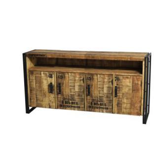 Beistelltisch, Schubladen Kommode aus Massivholz, 80 cm hoch - Vorschau 2
