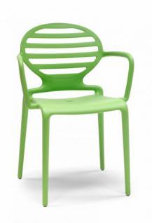 Stuhl Grün Kunststoff Kunststoff Armlehne Grün Design Design Design Stuhl Armlehne qSVpUzM