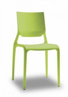Kunststoff gr n stuhl online bestellen bei yatego for Design stuhl kunststoff