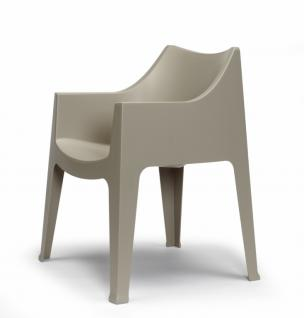 Design Stuhl Kunststoff Grau Outdoor Geeignet Kaufen Bei Richhomeshop