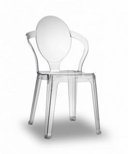 Design Stuhl style modern transparent