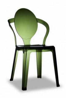 Design Stuhl style modern grün transparent