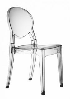 Design Stuhl modern klassisch Kunststoff transparent