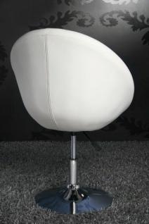 Design Sessel modern in weiß - Vorschau 3