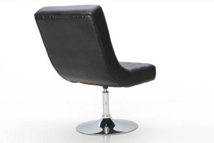 Design Sessel Pilot modern in schwarz 3