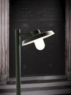 Stehleuchte Aluminium dunkelgrün Glas Outdoor - Vorschau 1