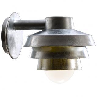 Wandleuchte Metall verzinkt Glas Outdoor 15 Jahre Anti-Rost-Garantie - Vorschau 2