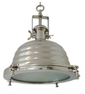 Maritime Hängeleuchte Lifestyle, verchromt, Durchmesser 26 cm - Vorschau 3