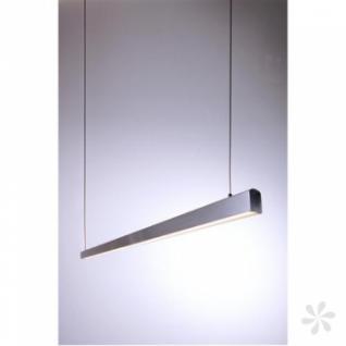 pendelleuchte aus geb rstetem aluminium h henverstellbar. Black Bedroom Furniture Sets. Home Design Ideas