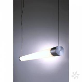 Pendelleuchte aus Aluminium, silber, höhenverstellbar, LED - Vorschau