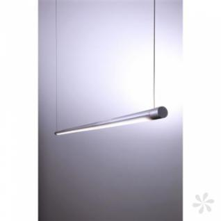 pendelleuchte aus aluminium silber led h henverstellbar. Black Bedroom Furniture Sets. Home Design Ideas
