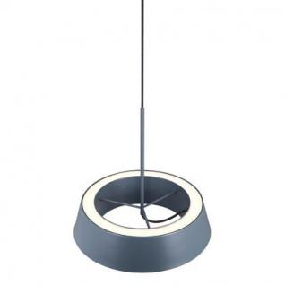 Pendelleuchte Metall PVC grau LED - Vorschau 2