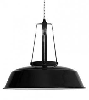 Pendelleuchte, Pendellampe, Industriedesign Hängelampe, Farbe schwarz - Vorschau 1