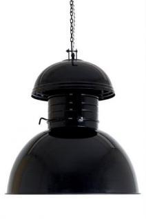 Hängeleuchte Fabrikart XXL, Pendelleuchte Industriedesign, Farbe schwarz