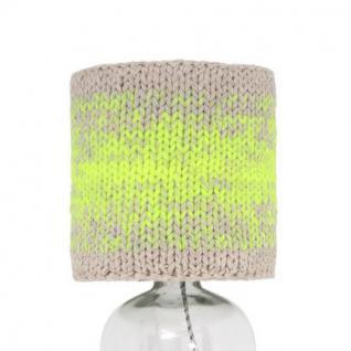"""Tischleuchte Flasche"""", Tischlampe aus Glas, Ø 22 und 31 cm"""" - Vorschau 2"""