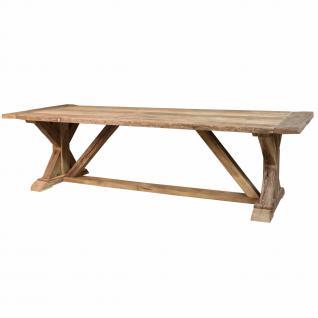 Esstisch im Landhausstil, aus Massivholz in 200 cm, 240 cm und 300 cm Länge - Vorschau