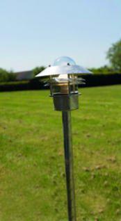 Stehleuchte Metall verzinkt Glas Outdoor 15 Jahre Anti-Rost-Garantie - Vorschau 1
