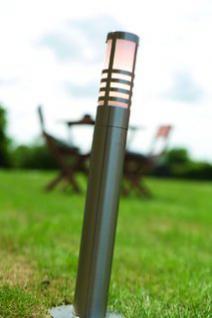 Stehleuchte rostfreier Edelstahl PVC 13 Outdoor