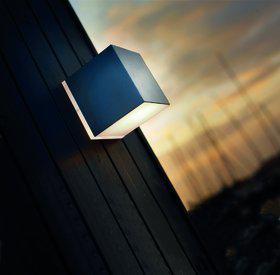 Wandleuchte Metall Aluminium PVC Energiesparer - Vorschau 1