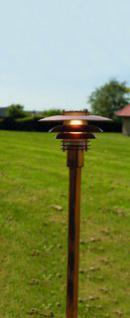 Stehleuchte Metall kupfer PVC Outdoor 15 Jahre Anti-Rost-Garantie Energiesparer - Vorschau 1
