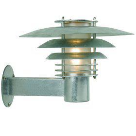 Wandleuchte Metall verzinkt PVC Outdoor 15 Jahre Anti-Rost-Garantie Energiesparer - Vorschau 2